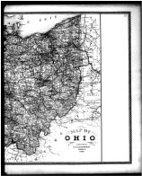 Ohio State Map - Right, Erie County 1896
