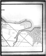 Sandusky City Outline Map - Right, Erie County 1896
