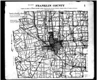 Franklin County Map, Franklin County 1910