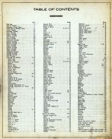 Table of Contents, Guernsey County 1914
