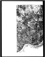 Cincinnati, Millcreek and Spencer Townships - Left, Hamilton County 1884