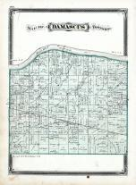 Damascus Township, Maumee River, Henry County 1875
