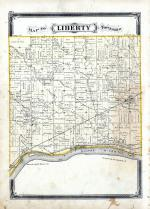 Liberty Township, Maumee River, Henry County 1875