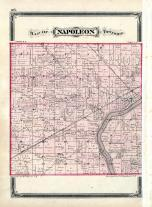 Napoleon Township, Maumee River, Henry County 1875