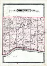 Washington Township, Maumee River, Henry County 1875