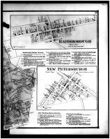 Paint Township, New Boston, New Petersburgh, Rainsborough - Right, Highland County 1871