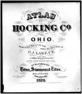 Title Page, Hocking County 1876 Microfilm