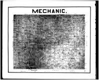 Mechanic Township, Backs Mills P.O., Saltillo P.O., Bloomfield, Mt. Union, Holmes County 1907