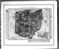 Ohio State Map, Holmes County 1907