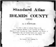 Title Page, Holmes County 1907