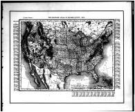 United States Map, Holmes County 1907