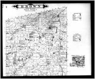Brown Township, Greersville, Jelloway Brownsville - Above, Knox County 1896