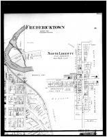 Fredericktown, North Liberty - Above Right, Knox County 1896