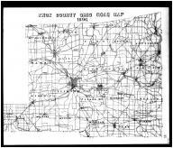 Knox County Road Map, Knox County 1896