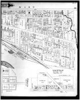 Mount Vernon, 1st Ward, Outline Map - Mount Vernon, Lockville - Right, Knox County 1896