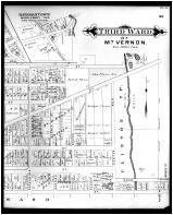 Mount Vernon, 3rd Ward, Outline Map - Mount Vernon, Waterford, Batemantown - Right, Knox County 1896