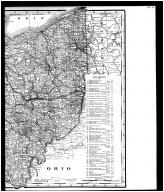 Ohio State Map - Right, Knox County 1896
