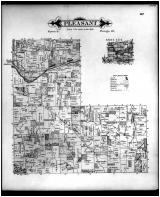 Pleasant Township, Fleaville, Hunt P.O., Knox County 1896