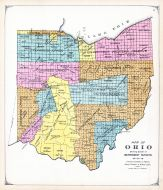 Ohio Map - Government Surveys, Lake County 1898