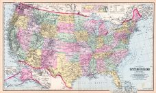 United States Map, Lake County 1898