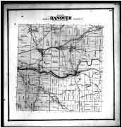 Hanover Township, Toboso, Hanover, Boston, Licking County 1866
