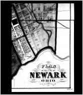 Newark City - Below Right, Licking County 1866