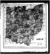 Ohio State Map, Licking County 1866