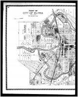 Elyria City - 1st, 2nd and 4th Wards - Left, Lorain County 1896 Microfilm