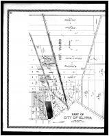 Elyria City - 1st and 3rd Wards - Left, Lorain County 1896 Microfilm