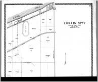 Lorain City - Northeast - Above, Lorain County 1896 Microfilm
