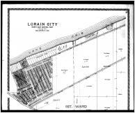 Lorain City - Northeast Central - Above, Lorain County 1896 Microfilm