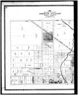 Oberlin Village - East, Ridgeville Centre, New Columbia Station, Belden P.O. - Left, Lorain County 1896 Microfilm