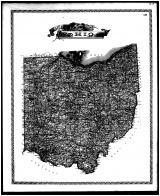 Ohio State Map, Lorain County 1896 Microfilm