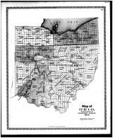 Ohio State Map - Government Surveys, Lorain County 1896 Microfilm