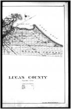 Lucas County Map - Right, Lucas County 1900 Vol 1