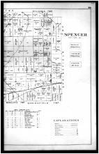 Spencer Township, Raab P.O., Java P.O. - Right, Lucas County 1900 Vol 1