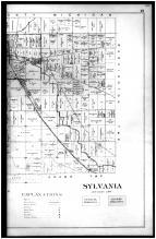Sylvania Township, Glanntown P.O., Richards - Right, Lucas County 1900 Vol 1
