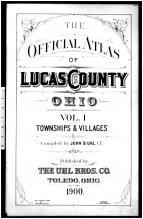 Title Page, Lucas County 1900 Vol 1