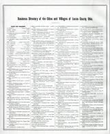 Directory 006, Lucas County and Part of Wood County 1875 Including Toledo
