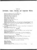 Miami County Government Officers Directory 001, Miami County 1883