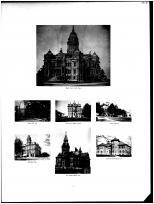 Miami County Court House, County Jail, Troy City Hall, Kyle Public School, Knoop Childrens Home, Miami County 1894