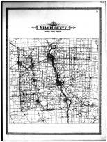 Miami County School District Map, Miami County 1894