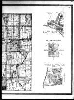 Newberry Township, Bradford, Clayton, Bloomertown, Polo, Covington - Right, Miami County 1894