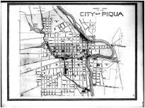 Piqua City, Rossville, Huntersville, Miami County 1894