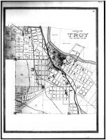 Troy Ward Map, Miami County 1894