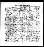 Highland Township, Bloomfield, Muskingum County 1916