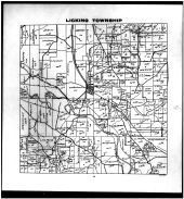 Licking Township, Nashport, Irville, Muskingum County 1916
