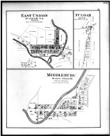 East Union, McCleary P.O., Fuldah, Middleburg, Middle Creek P.O., Noble County 1879