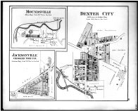 Moundsville, Dexter City, Jacksonville, Crooked Tree P.O., Noble County 1879