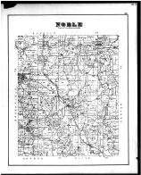Noble Township, Ava, Rochester, Hiramsburgh, Bellevalley, Hoskinville, Noble County 1879